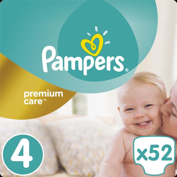 Pampers Premium Care 4 Maxi 52ks 8 14kg