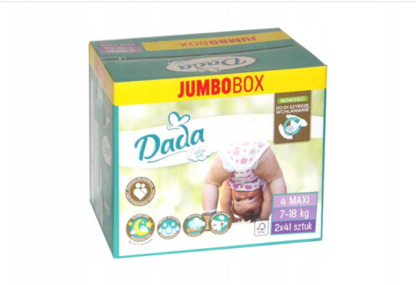 dada plienky extra soft 4 box
